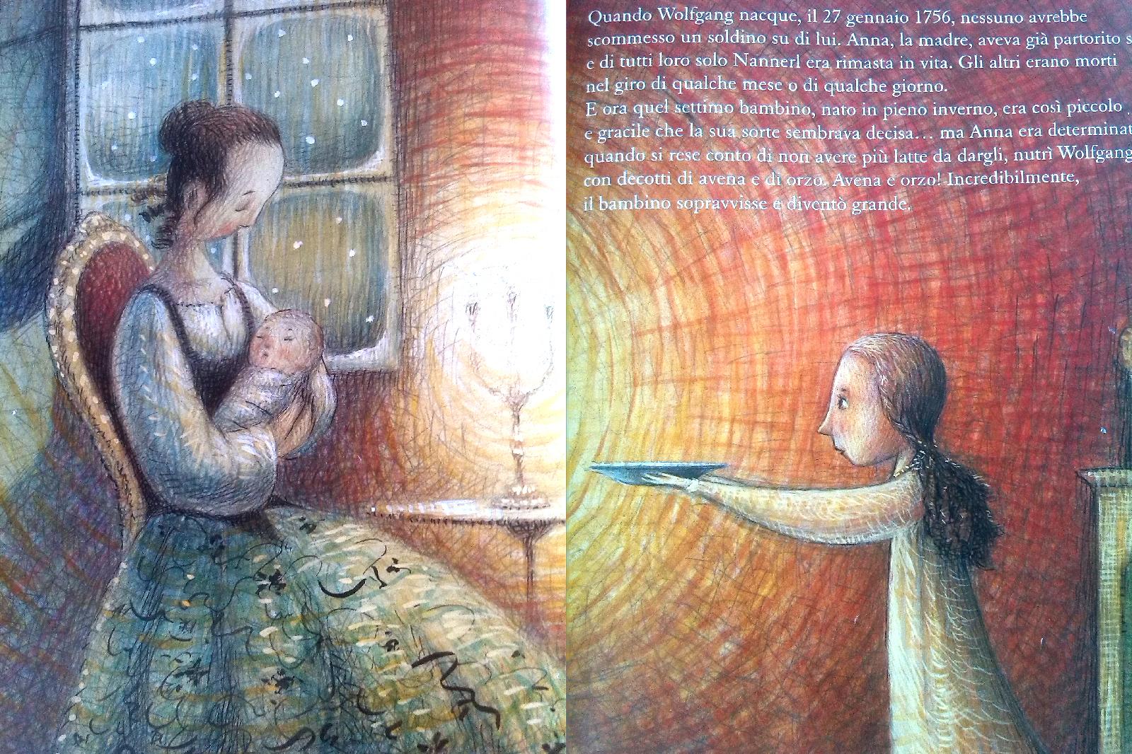 Il piccolo Mozart - In viaggio con Mozart 01 copertina - adagioassai